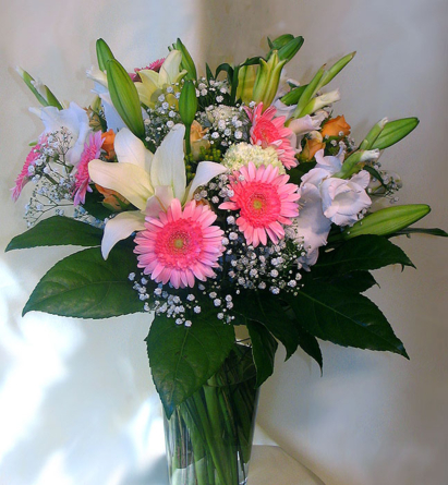 Virágposta - Romantikus köszöntés