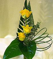 Virágposta - Rózsás miniatűr