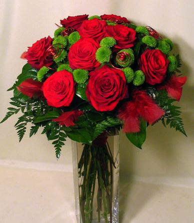 Virágposta - Te vagy, aki kell! rózsacsokor virágküldés