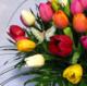 Virágposta - Óriás Tulipán csokor