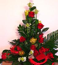 Virágposta - Csillagok és vörös rózsák