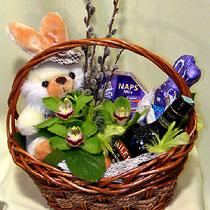 Virágposta - Miért nyúl? Húsvéti ajándékkosár