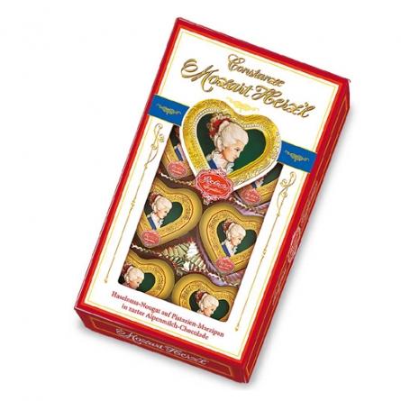Virágposta - Mozart szív desszert 80 grammos