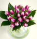 Virágposta - Cirmos tulipánok 2016 - Tavaszias csokor