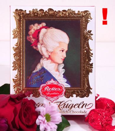 Virágposta - Constanze - Mozart golyók dobozban