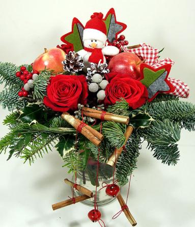 Virágposta - Téli Mese - karácsonyi ajándék csokor