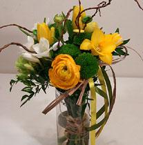 Virágposta - Tavaszi napsugár - csokor