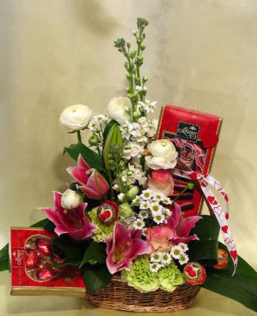 Virágposta - Édes virágkosár