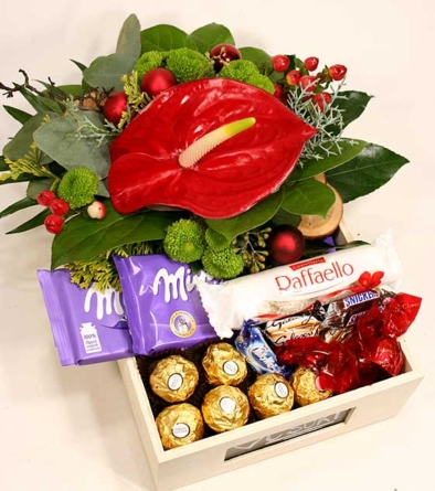 Virágposta - Box of chocolate - avagy Gombóc Artúr köszöntője
