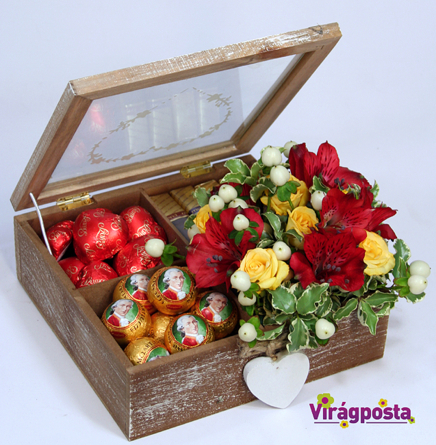 Virágposta - Édes virágdoboz